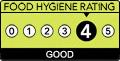 Food Score =4